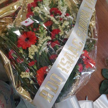 Floristería Rosa Rosam Ramo funerario 2